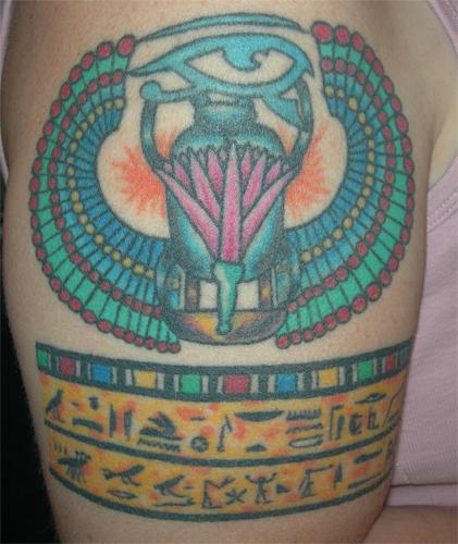 Annikas tatto right arm