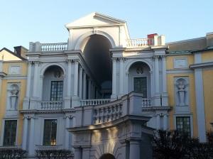 Tessinska palatsets innergård