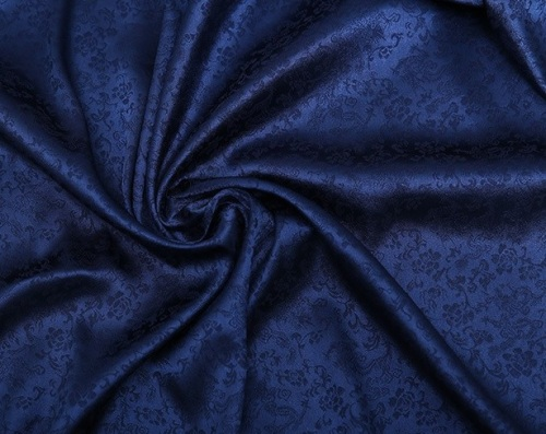 blått tyg