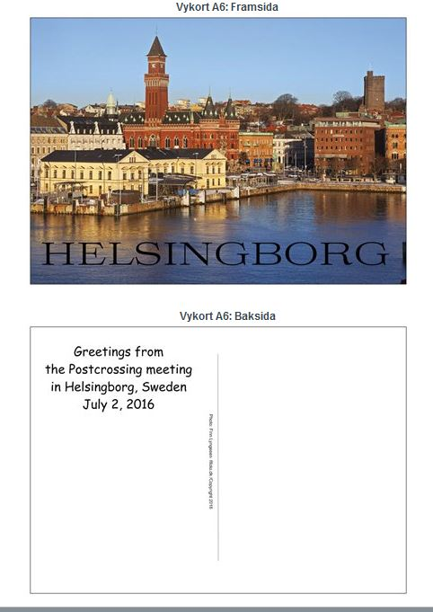 Helsingborgs vykort